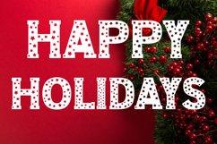 Christmas Stars Font Product Image 5