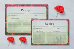 Artistic Recipe Card Template V1 Product Image 4