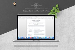 Clean Resume / CV Template Product Image 4
