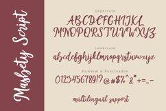 Masbety - Handwritten Font Product Image 3