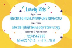 Lovely Kids - Playful Font Product Image 5