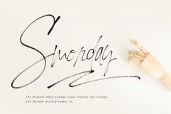 Loving Celine Signature SVG Font Trio - Modern Brush Fonts Product Image 5