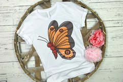 Butterfly Steampunk Style | SVG file Product Image 2