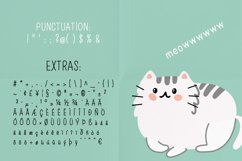 Meow a hand-drawn cute font! Product Image 3