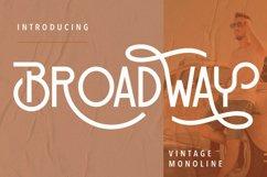 Broadway Vintage Monoline Product Image 1