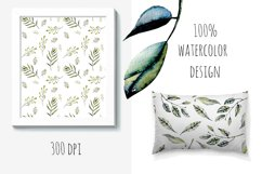 Green leaves Patterns Product Image 4