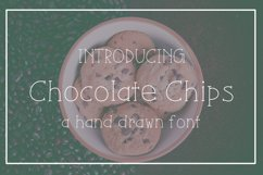 Chocolate Chips Font Product Image 1