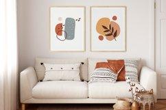 Boho Abstract Wall Print, Abstract Wall Art, Minimal Poster Product Image 3