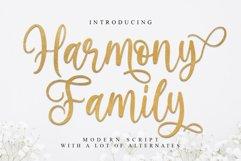 Harmony Family | beautiful Script Product Image 1