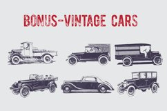 Vintage Pack-17 fonts and elements Product Image 8