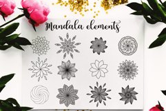 Watercolor Logo Kit 8 Fonts! Product Image 5