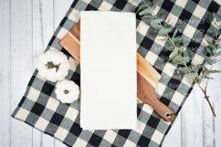 Farmhouse Tea Towel Flatlay Craft Mockups JPEG Styled Photo Product Image 1