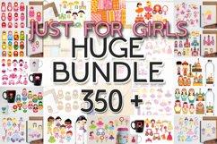 Just For Girls Clip Art Illustrations Huge Bundle Product Image 1
