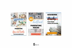 High- Converting Blogger Pinterest Pin Pack | Canva Product Image 5
