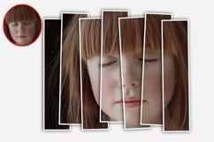Vertical Panels Portrait Photoshop Action Product Image 5