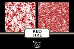 Red Fire - 10 Digital Papers/Backgrounds Product Image 3