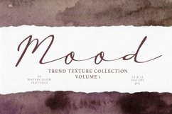 Dark and Moody Watercolor Textures Product Image 1
