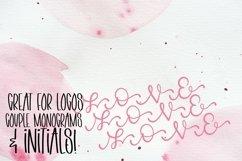 Web Font Linking Monogram Font - Linking Letters Product Image 4