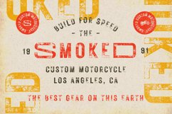 Rustic Printed - Vintage Font Product Image 3