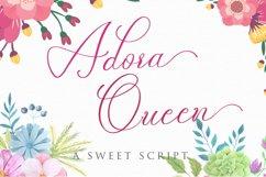 Adora Queen Sweet Script Product Image 1