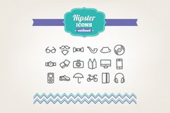 Hand Drawn Hipster Icons Product Image 1