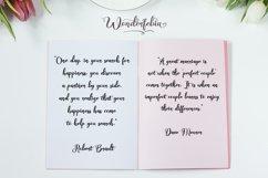 Wonderfebia - Script Wedding Font Product Image 4