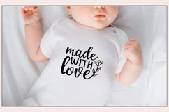 30 Baby SVG Bundle - Baby quotes SVG - New born quotesc SVG Product Image 5