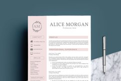 Professional Creative Resume Template - Alice Morgan Product Image 2
