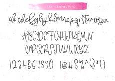 Raspberry - A Handwritten Script Font Product Image 6