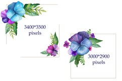 Bright Watercolor Pansies Product Image 3