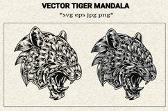 Svg tiger mandala Product Image 1