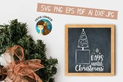 Days Until Christmas Svg Product Image 3