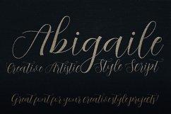 Abigaile Script Font Product Image 4