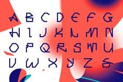 Computer line decorative font. Neuromiq. Product Image 2