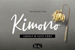 Kimono Script Font Product Image 1