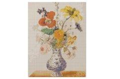 Vintage Flowers Cross Stitch Pattern Product Image 1