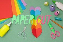 Paper Cut Out Font Product Image 4