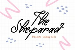 Web Font Sheparad Font Product Image 1