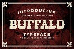 Web Font Buffalo Product Image 1