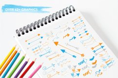 Arrow Doodles graphics and illustrations Product Image 3
