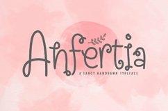 Web Font Anfertia Product Image 1
