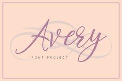 Web Font Avery Font Product Image 1