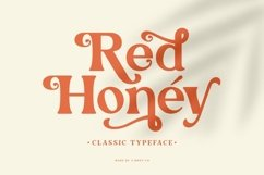 Red Honey - Retro Font Product Image 1