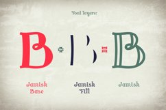 Jamish Font & Mockup Product Image 5