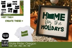 Oregon SVG and Cut Files for Crafters Product Image 2