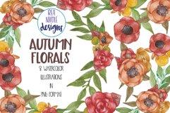 Autumn Florals Clip Art Product Image 1