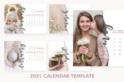 2021 Calendar Template, Desk Calendar Product Image 1