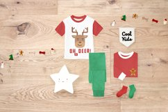 Merry Xmas CLIPART and FONT Product Image 4
