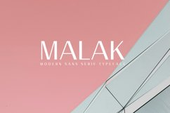 Malak Sans Serif Font Family Product Image 1