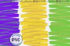 Mardi Gras brush strokes background Sublimation design png Product Image 2
